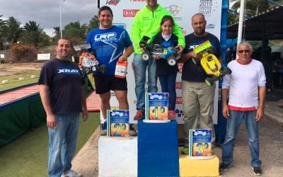 Juan José Llanos y Rubén Quintana, primeros vencedores en Telde.
