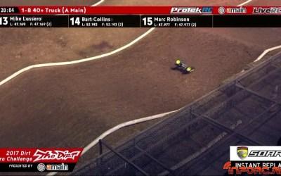 Video - El accidente más largo de la Dirt Nitro Challenge, con auto recoge coches