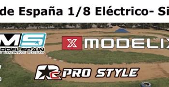 Campeonato Nacional 1/8 TT Electrico Silla - Aspecto del trazado y horarios de la prueba.