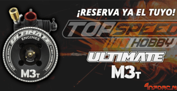 Reserva ya tu Ultimate M3T fabricado por OS en Top Speed Hobby