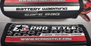 RC Pro Style presenta sus nuevas bolsas para carga de baterías, térmica y estándar