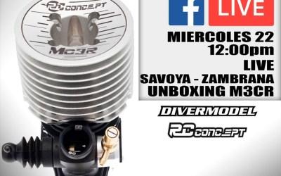 Video en directo - Desmontando el RC Concept MC3R Ceramic con Miguel Zambrana y Reno Savoya