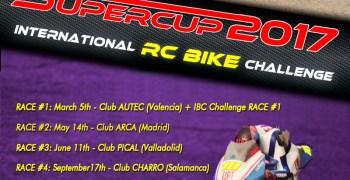 14 de Mayo - Segunda prueba de la Supercup 2017 de motos RC 1/5 Superbike