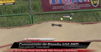 Video - Campeonato de España 1/10 ARCC. Q2 con Pineda, Fernandez, Benito y Bustos