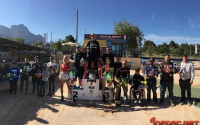 Carlos Huertas se lleva la primera prueba del Campeonato de España B 1/8 TT Gas 2017 en La Nucía