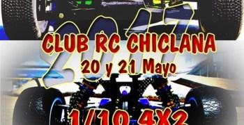 20 y 21 de Mayo - Segunda prueba Campeonato de Cádiz 1/8 TT eléctrico y 1/10