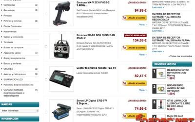 Descuentos Modelspain en productos Sanwa ¡ahorra hasta 255€! Corre, que se agotan