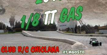 27 de Agosto - Warm Up Campeonato de Andalucía 1/8 TT Gas 2017 en Chiclana