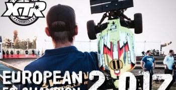 David Ronnefalk, campeón de Europa 1/8 TT-E 2017 en unas instalaciones que no dieron la talla