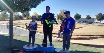 Juan Carlos Guerrero, campeón de España B 1/8 TT Gas 2017 ¡Enhorabuena!