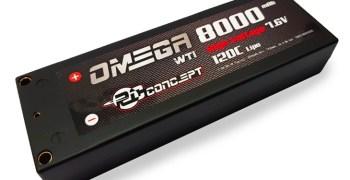 RC Concept presenta su batería 7.6v Omega 8000mAh 120C