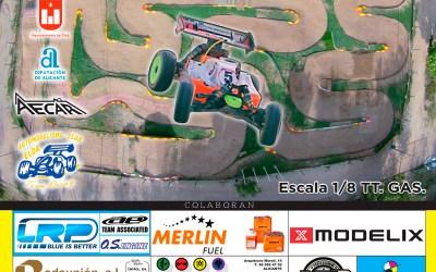 21 y 22 de Octubre - Última prueba del Campeonato de España A 1/8 TT Gas 2017 ¡Todo por decidir!