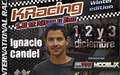 Ignacio Candel, confirmado para la Winter Edition en La Nucia