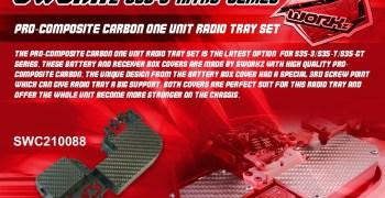 SWorkz presenta las nuevas cubiertas de carbono para bandeja de radio