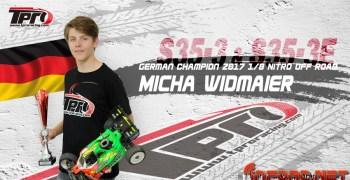 Micha Widmaier confirma su continuidad con SWorkz y TPro para 2018