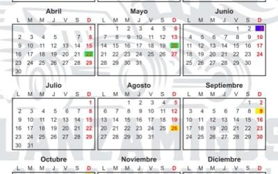 Calendario Club Lanzamigos 2018