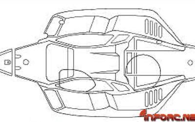 Mugen MBX8, carrocería al descubierto. Exclusiva mundial.