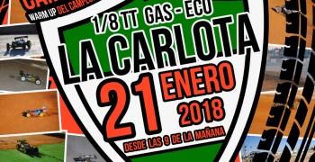 21 de Enero, Campeonato de Cordoba 1/8 TT Gas 2018 en La Carlota