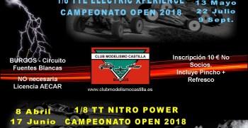 Campeonatos Club Modelismo Castilla 2018