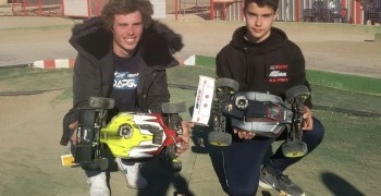 Estupenda actuación del equipo NBSport en la primera prueba del Nacional B 1/8 TT Gas