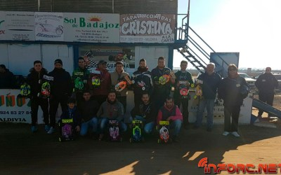 Resultados primera prueba Camp. de Extremadura 1/8 TT Gas 2018