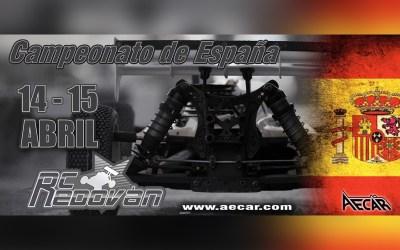 14 y 15 de Abril - Comienza el Campeonato de España en Redovan ¡No puedes perdertelo!