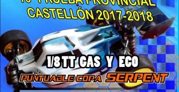 29 de Julio - Ultima prueba provincial Castellon 1/8 TT