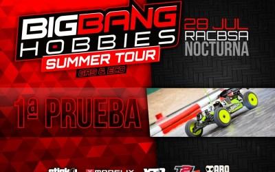 28 de Julio - Primera prueba de la Big Bang Summer Tour