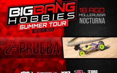 18 de Agosto - Segunda prueba del Big Bang Summer Tour