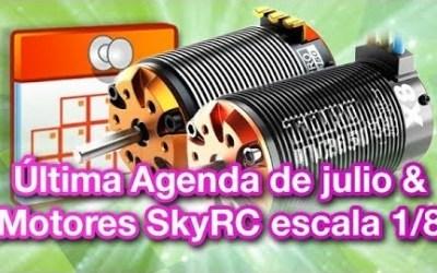 Video TRP - Motores de Sky RC para 1/8