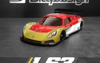 Bittydesign presenta la LS3, carrocería para la categoría GT12