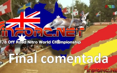 Video - Final del Mundial 1/8 TT Gas comentada con Robert Batlle