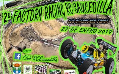 27 de Enero - Segunda Factory Racing RC Saucedilla