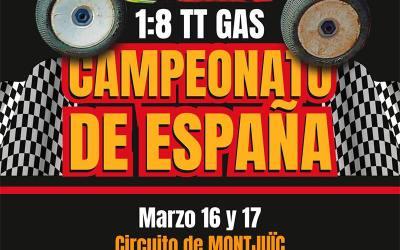 16 y 17 de Marzo - Comienza el Nacional A 1/8 TT en Montjuic. Análisis previo.