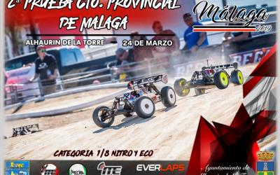 24 de Marzo - Segunda prueba Provincial Malaga 1/8 TT nitro y electrico