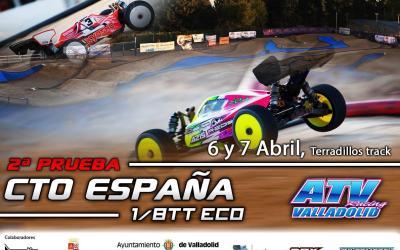 6 y 7 de Abril - 2ª prueba Cto España 1/8tte en Atvracing Valladolid