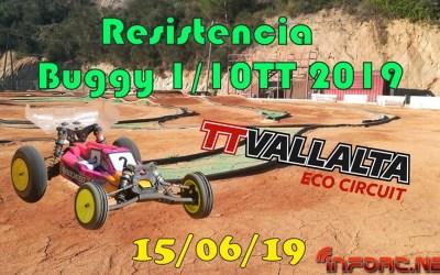 15 de Junio - Carrera de resistencia 1/10 en TT Vallalta