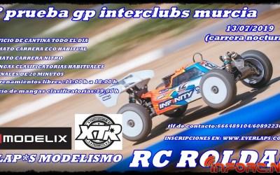 13 de Julio - Primera prueba GP Interclubs Murcia