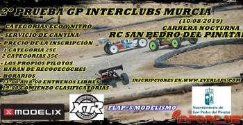 10 de Agosto - Segunda prueba GP Interclubs Murcia