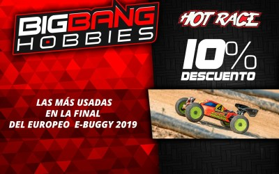 Promo Hot Race en Big Bang Hobbies ¡10% de descuento!