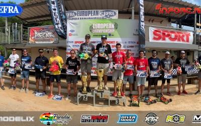 Davide Ongaro, Campeón de Europa 1/8-E Off Road 2019
