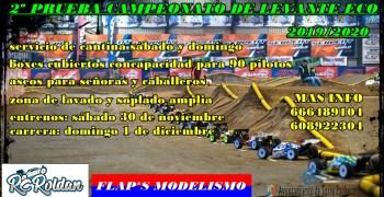 1 de Diciembre - Segunda prueba del Campeonato del Levante 1/8 TT-E