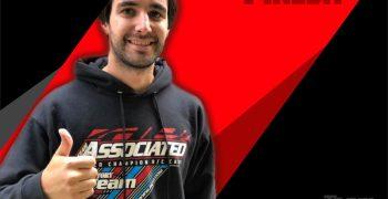Carlos Pineda renueva con FRGrafix para 2020