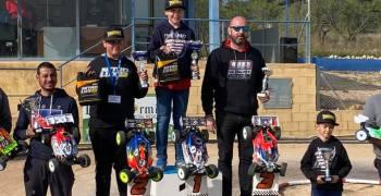 David Todd se lleva la primera prueba del Campeonato de España B 1/8 TT Gas