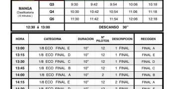 Horarios Campeonato de España 1/8 TT-E La Jara