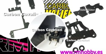 Opciones RC Carbon Cavalieri ya disponibles en RM Hobby