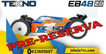 Pre-reserva ya tu Tekno EB48 2.0 en E1RC