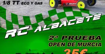 1 y 2 de Mayo - Segunda prueba open de Murcia 1/8 TT eco y nitro