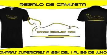 Promo camisetas en Proequip RC durante el mes de Junio