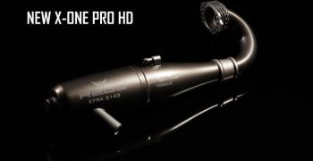 Nuevo escape X One Pro de REDS Racing